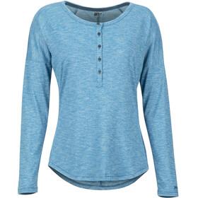 Marmot Jayne Langærmet T-shirt Damer blå